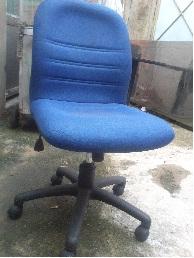 Thanh lý ghế xoay văn phòng xanh dương 0080