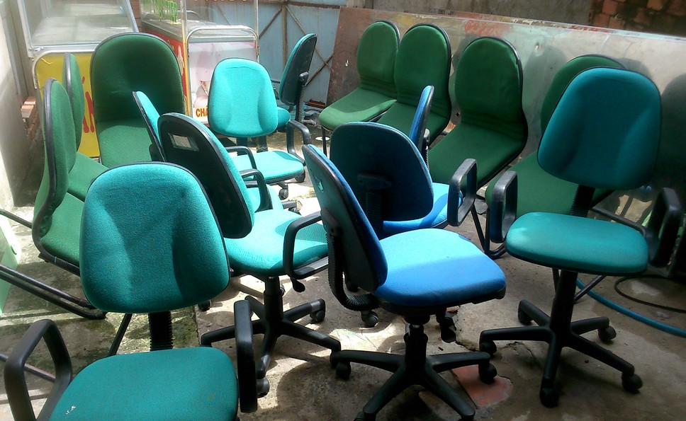 Thanh lý ghế nệm xoay văn phòng 0081