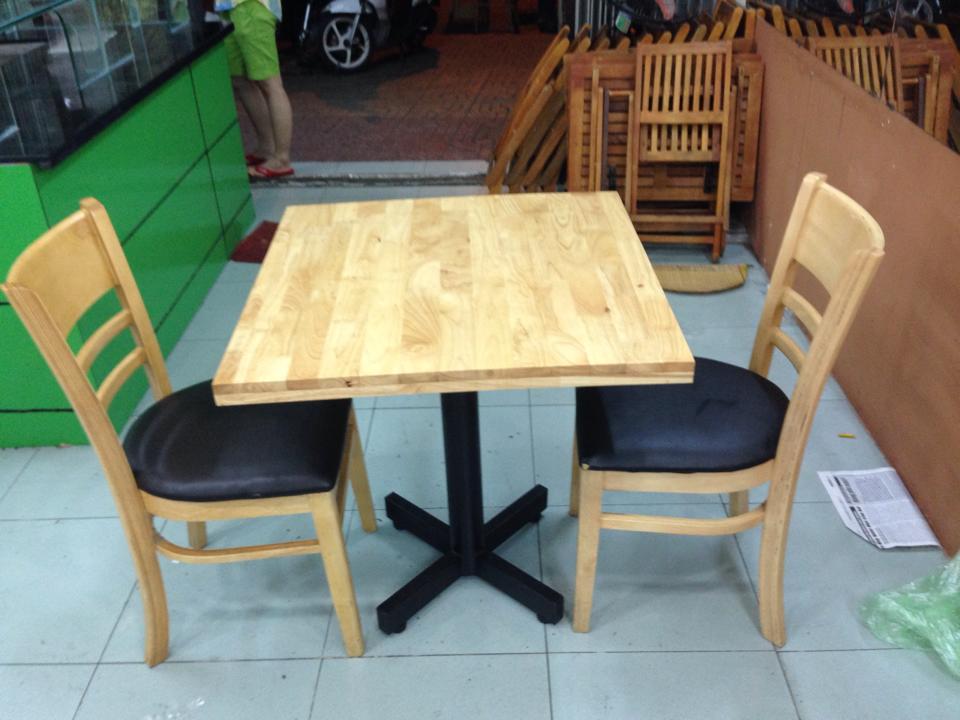 Thanh lý bộ bàn ăn 2 ghế mới 0487