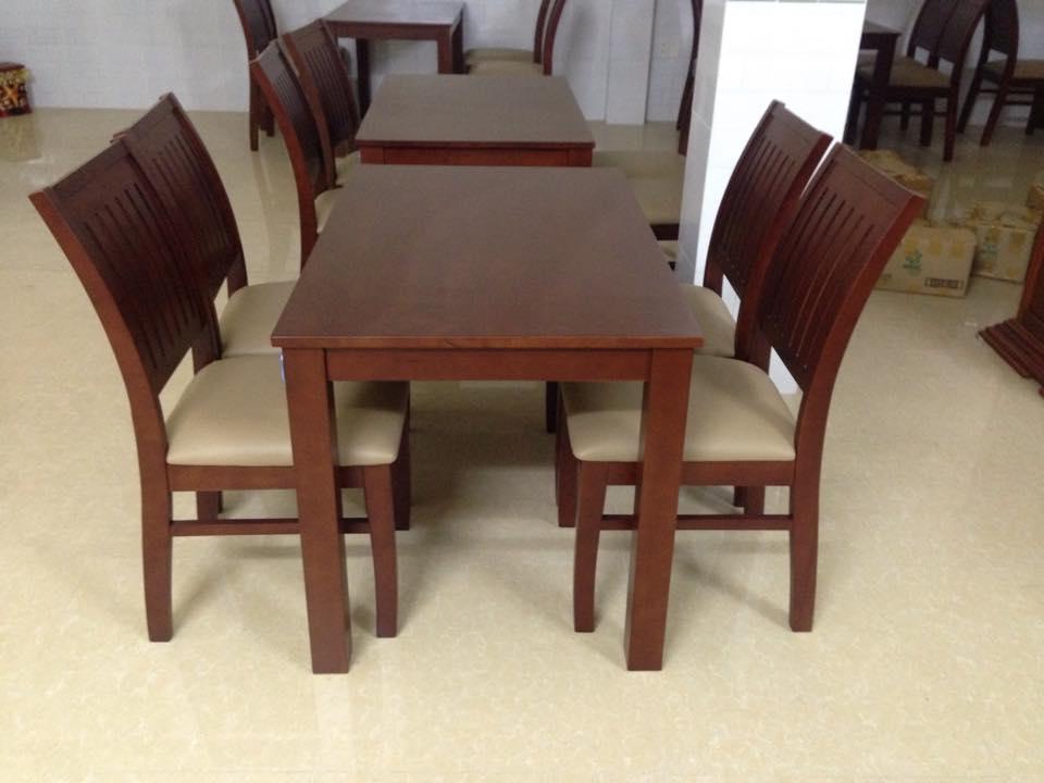 Mua bán bàn ghế nệm gỗ nhà hàng 0410