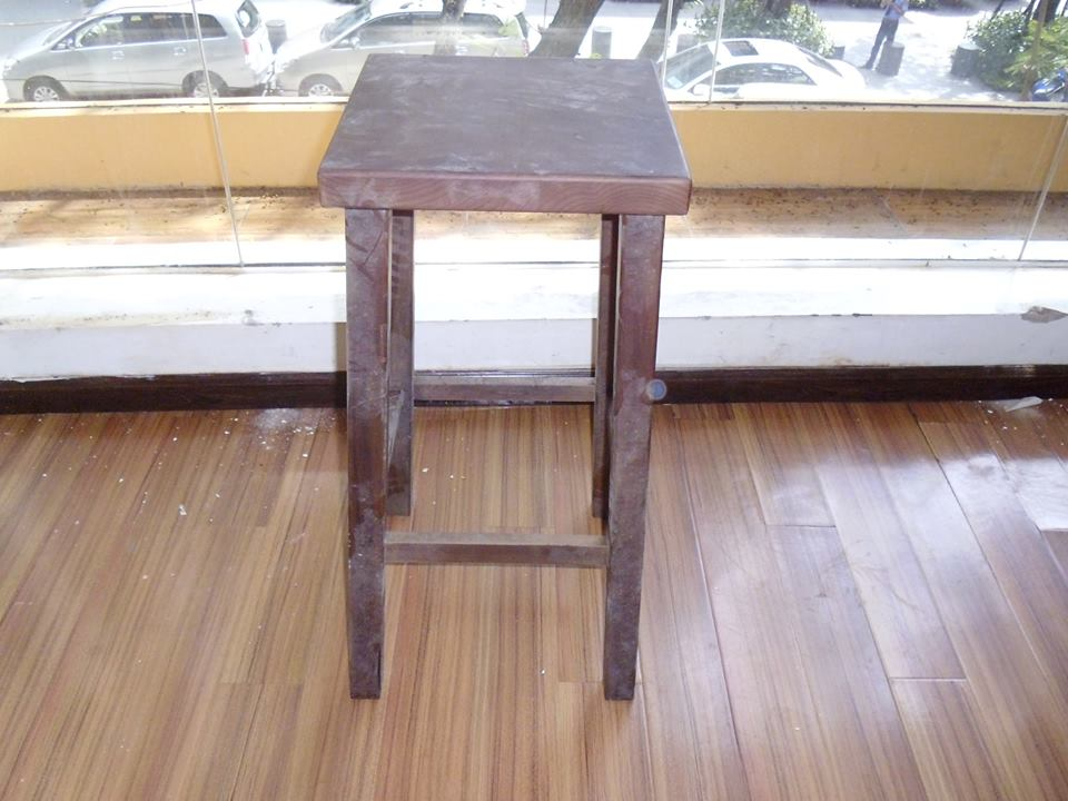 Thanh lý ghế bar đôn gỗ cao 0234
