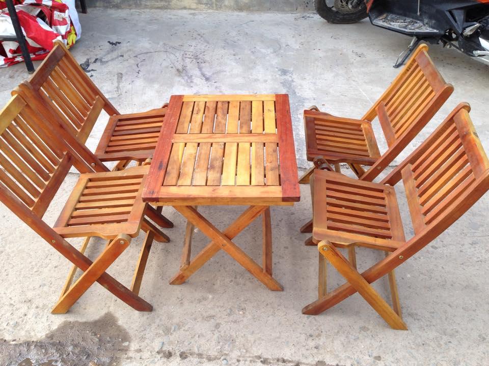 Thanh lý bộ bàn ghế cafe mini 0322