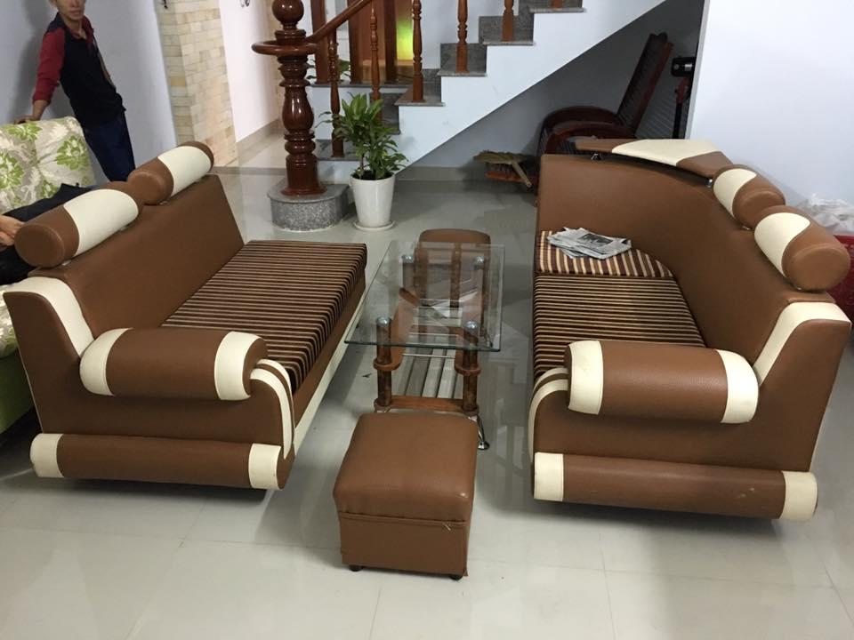 Thanh lý bàn ghế sofa 0671