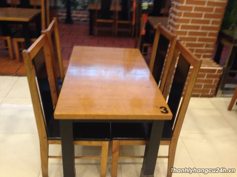 Thanh lý bàn ghế mới giá rẻ