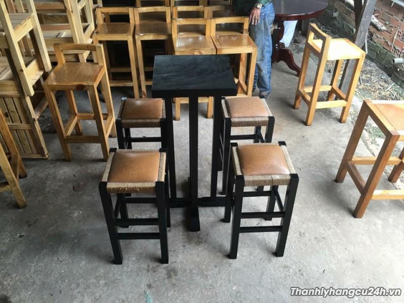 Thanh lý bàn ghế quán bar