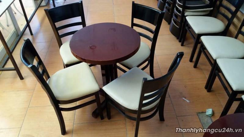 Thanh lý bàn ghế cafe còn mới 90%