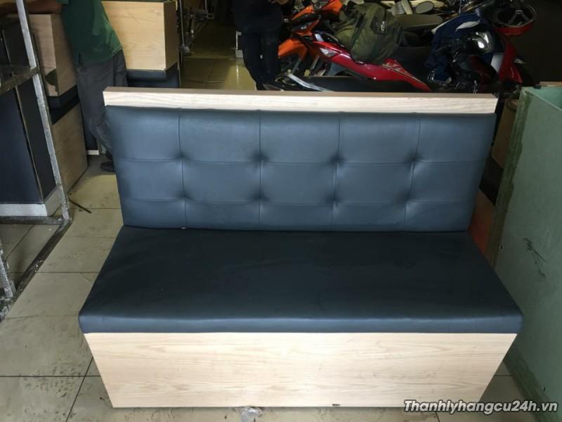 Ghế sofa gỗ thanh lý