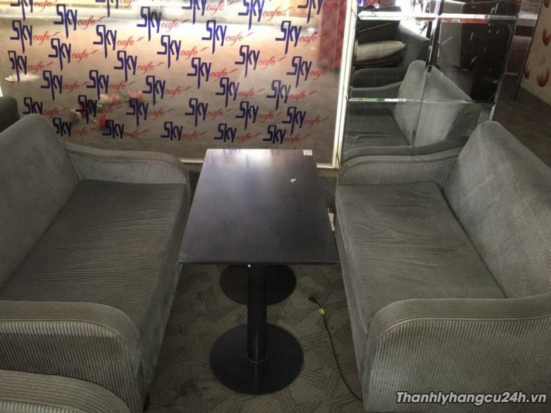 Ghế sofa màu kem thanh lý