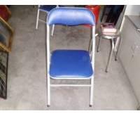 Thanh lý ghế gấp màu xanh 0137