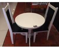 Thanh lý bộ bàn tròn nhà hàng 0457