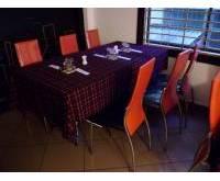Thanh lý bàn ghế nhà hàng đỏ 0116
