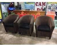 Thanh lý ghế sofa đơn cafe 0669