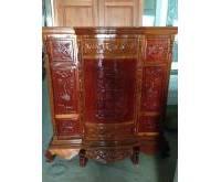 Thanh lý tủ thờ mới gỗ căm xe 0452