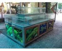 Thanh lý bể cá nhà hàng 0563